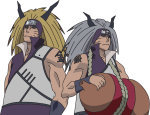 kingin_kyodai___gold_and_silver_brothers___colored_by_puppet__sasori-d570b4r